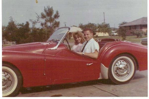 John with '60 Triumph TR-3