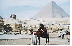 Karla on Camel