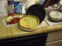 4 Dutch Baby Pancakes Comin' Off!