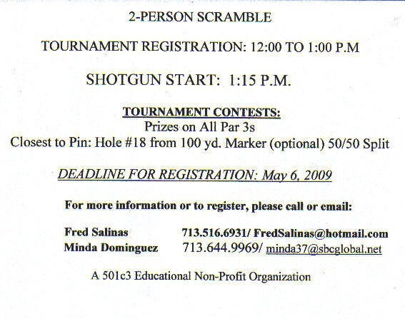 Hisp Alum Golf Invitation