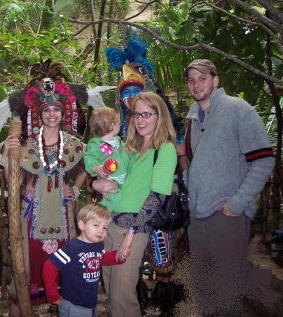M&M and Kids - Dallas Aquarium Feb 10