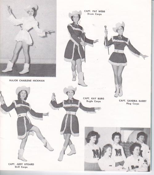 1960 Coed Cadettes Officers