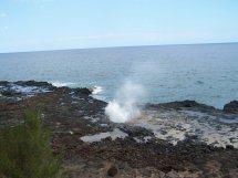 E) Black Beach Water Spout