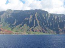 G) Kauai Mountain Range