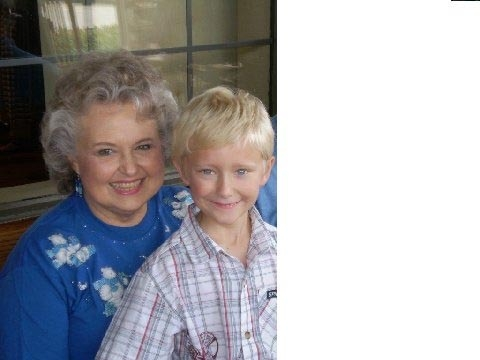 A - Charlote Vann Casselberry and her Grandson Austin
