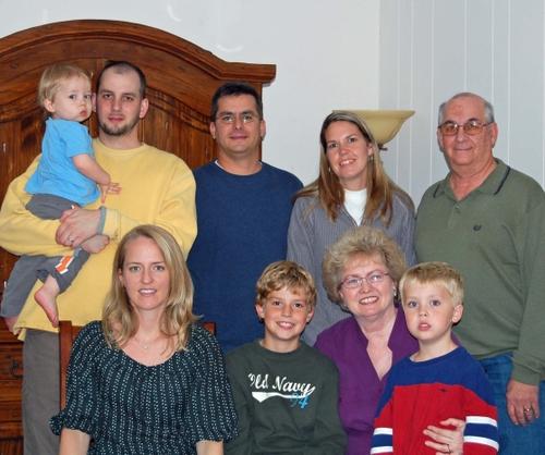 E - Davis Family - Christmas '07