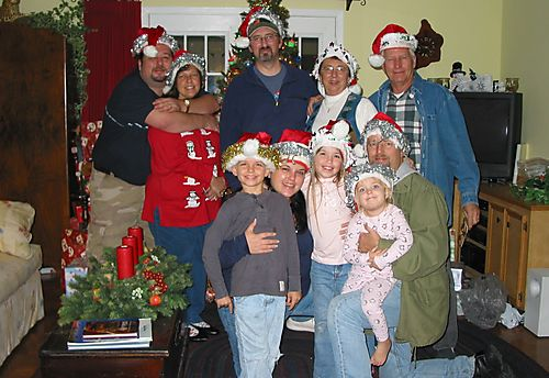 P - Larry Smith Family, Christmas 2007