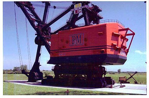 E - Big Brutus, Coal Shovel
