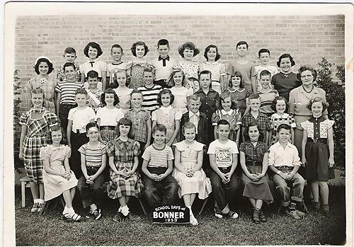 5th grade Bonner Class 1953