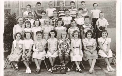 Park Place Elementary 1951