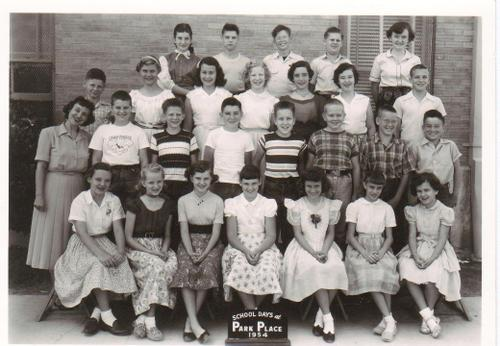 Park Place Elementary 1954