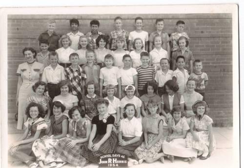 Harris Elementary 1954