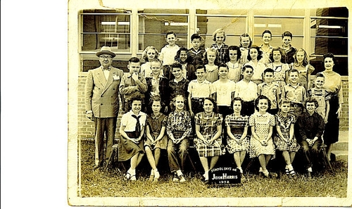 Harris Elementary 1952, Another Class