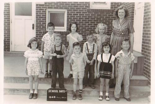 Park Place Baptist Church Kindergarten Class, 1948