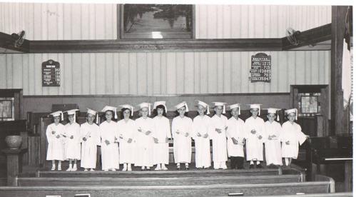 Park Place Baptist Church Kindergarten Graduation, 1949