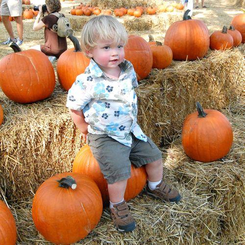 (Cl) - Alex in the Pumpkin Patch