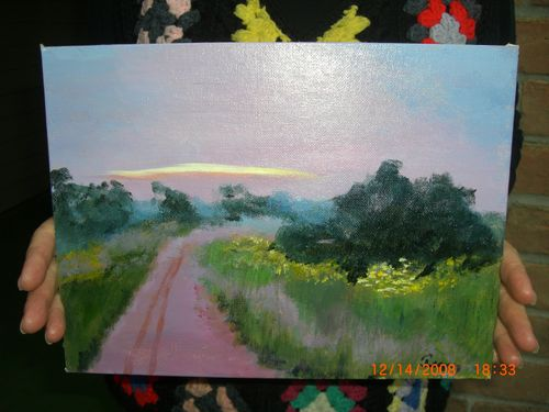 """(Bhb) - Glenda's Painting - """"The Rest of the Story"""""""