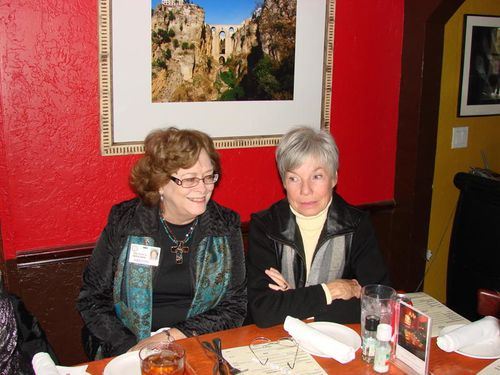 Melissa Gray Grant and Delores Hugghins Manning