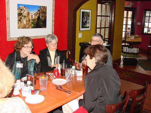 Melissa, Delores, Pat, Carolyn