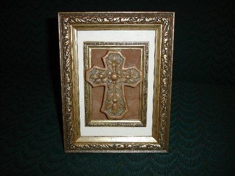 Framed Large Cross