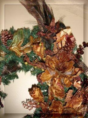"""Splendor in the Woods"" Wreath Detail"