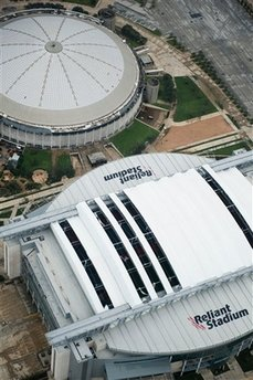 Storm Damage to Reliant Stadium