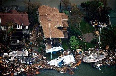 Ike's Devastation and Destruction in Galveston