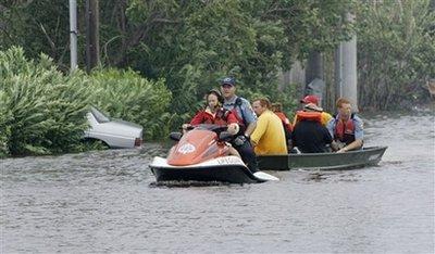 Rescue Crews in Galveston