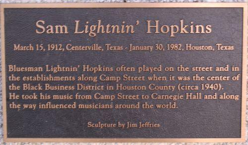 E - Sam Lightnin' Hopkins