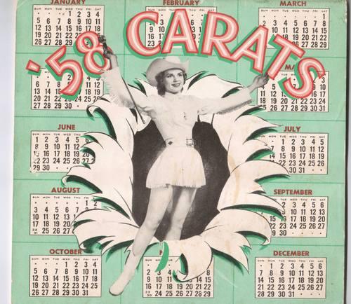 '58 Carats Program Cover