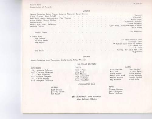 '58 Carats Program, page 2