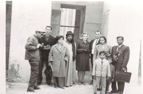H) Karla and Ed with Egyptian Tour Group