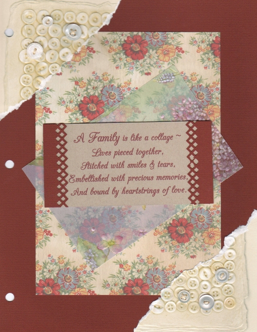 GF - Family Heritage Album Title Page