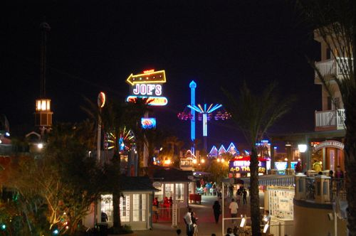 J) View of Amusements Beyond Joe's Crab Shack