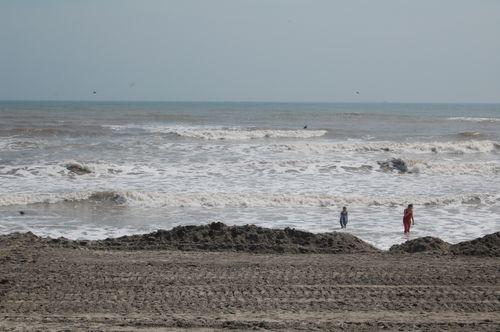 Y) Along the Beach in Galveston