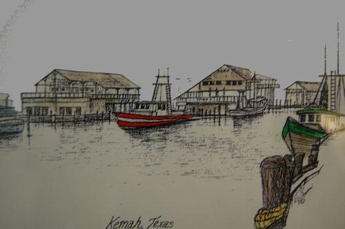 Ib) Davis Boatyard on Kemah Strip