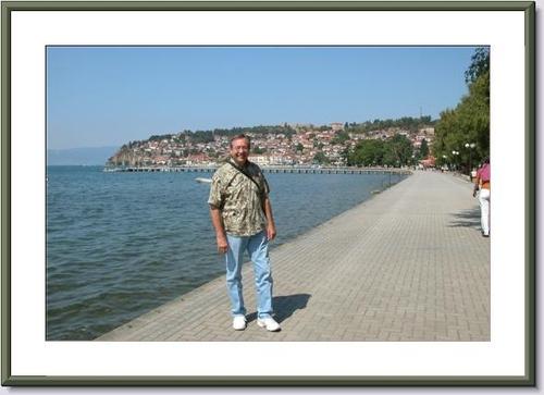 """01 - Ken Corey on the """"Boardwalk"""" in Macedonia"""