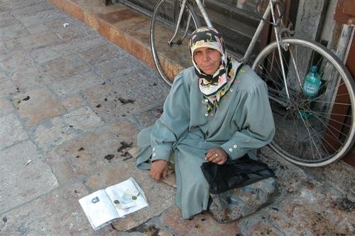23 - Beggar Along the Walk
