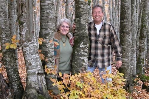 25 - Ken and Carole, Relaxing