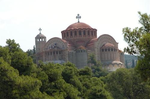 32 - Thessaloniki, Church on Hill