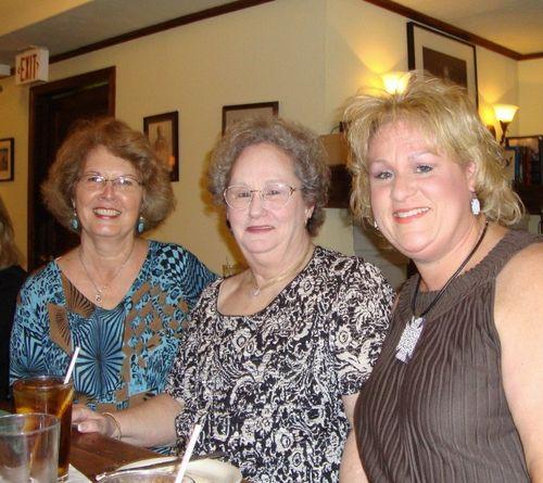 H) Glenda, Joan, and Dana