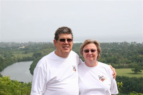 Ray & Pat at Wailua River Valley