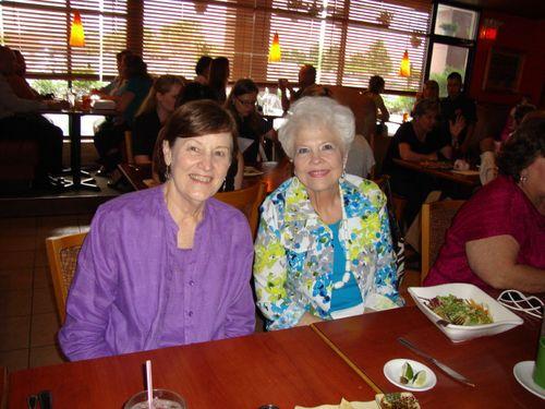 B) Carolyn and Gladys