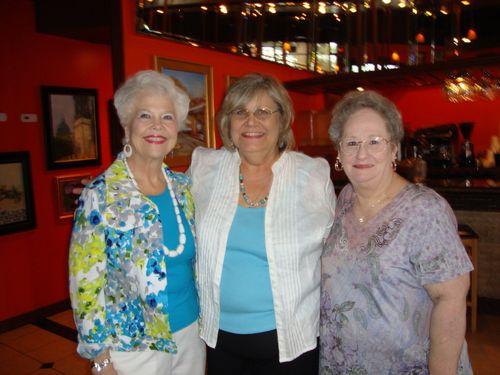 J) Gladys, Linda, and Joan