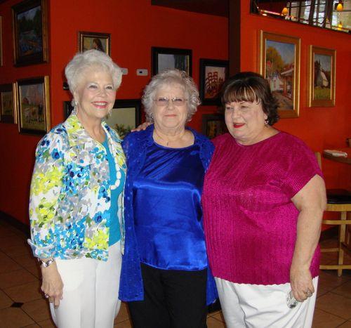 C) Gladys, Francis, and Jo Ann