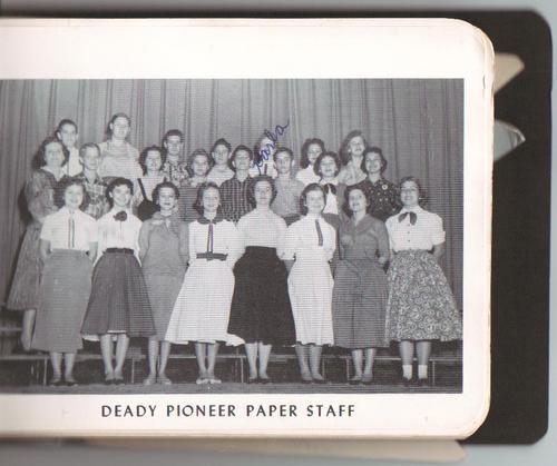 Deady Pioneer Newspaper Staff