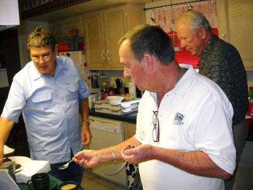 BA) Ray, Joe, and Tommie Bennett