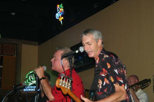 Bb) Sonny Jones on the Left