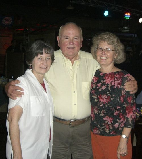 F) Rita Beeler, Wally Sisk, Glenda Burns
