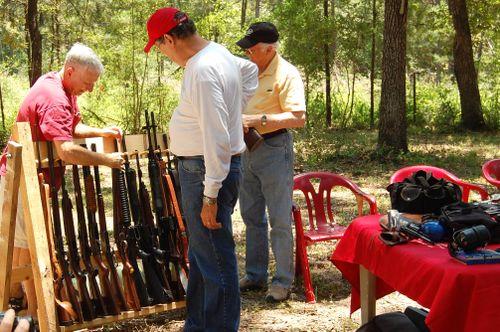 Dc - Examining the Firearms